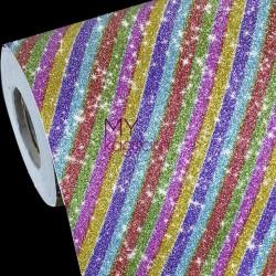 Mykağıtcım Simli Folyolar - Yapışkanlı Folyo G1005