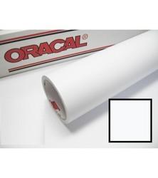 Oracal Kesim Folyosu - Yapışkanlı Folyo Oracal 010 Beyaz Mat