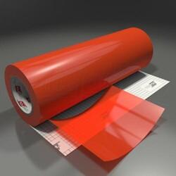 Oracal Transparan - Yapışkanlı Folyo Transparan 047 Portakal Kırmızı