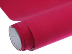 Mykağıtcım Kadife Folyolar - Yapışkanlı Folyo Ucuz Kadife Pembe 45cmx1mt
