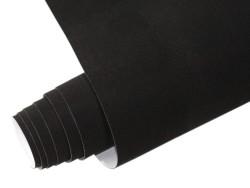 Mykağıtcım Yapışkanlı Folyo - Yapışkanlı Folyo Ucuz Kadife Siyah 45cmx1mt