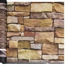 Wall212 3D Single 5 m2 - Yerli Duvar Kağıdı 3D Single 2001