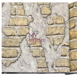 Wall212 3D Single 5 m2 - Yerli Duvar Kağıdı 3D Single 2012