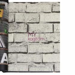 Wall212 3D Single 5 m2 - Yerli Duvar Kağıdı 3D Single 2017