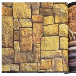 Wall212 3D Single 5 m2 - Yerli Duvar Kağıdı 3D Single 2034