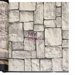 Wall212 3D Single 5 m2 - Yerli Duvar Kağıdı 3D Single 2036