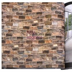 Wall212 3D Single - Yerli Duvar Kağıdı 3D Single 2039