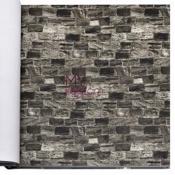Wall212 3D Single 5 m2 - Yerli Duvar Kağıdı 3D Single 2040