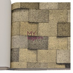 Yerli Duvar Kağıdı Dekor Newart 1018B - Thumbnail