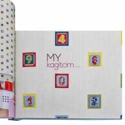 Duka Kids Collection 16,5 m2 - Yerli Duvar Kağıdı Kids Collection 15126-1