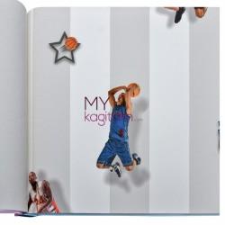 Duka Kids Collection 16,5 m2 - Yerli Duvar Kağıdı Kids Collection 15188-2