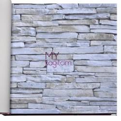 Gmz Elemental 16,5 m2 - Yerli Vinil Duvar Kağıdı Elemental 42006-2
