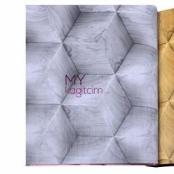 Gmz Elemental 16,5 m2 - Yerli Vinil Duvar Kağıdı Elemental 42010-3